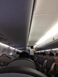 エンブラエル170の機内