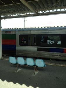 延岡行きの電車