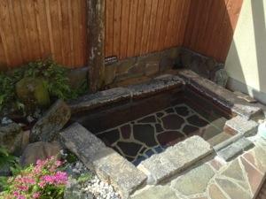 南阿蘇俵山温泉に着きました。