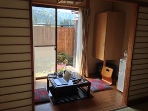 竹楽亭の客室