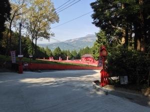 宝来宝来(ホギホギ)神社の参道