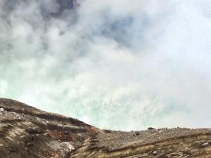 中岳第一火口