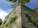 米子城の城壁