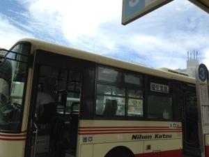 皆生温泉行き路線バス