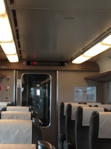 JR山陰本線(とっとりライナー) 車内