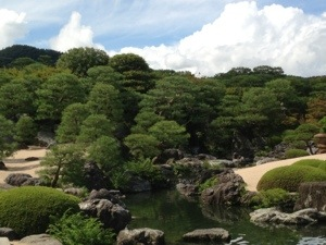 白砂青松庭