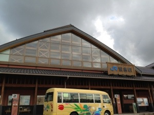 鳥取駅から安来へ