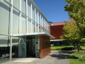出雲歴史博物館のエントランス