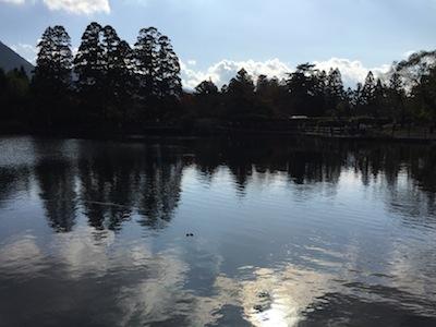 湯布院、金鱗湖